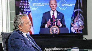 Alberto Fernández dijo que Argentina ha puesto la acción climática y ambiental en el centro de sus convicciones, durante el encuentro por el Cambio Climático