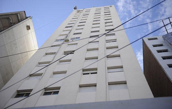 El lugar. Susana Pulsoni vivía en el 19º piso D