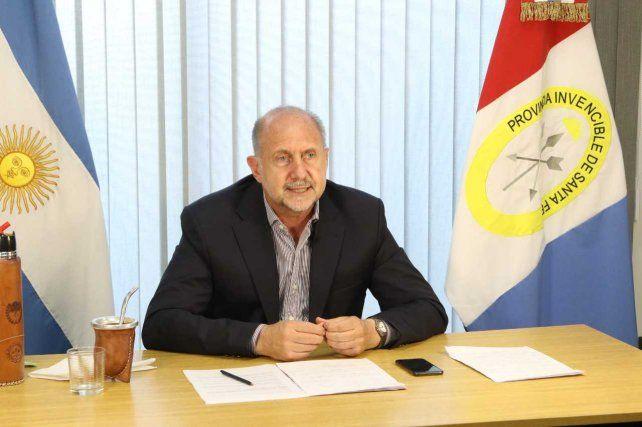 Campaña Nacional de Vacunación contra el Covid 19: Perotti mantuvo un encuentro de trabajo con el presidente Fernandez
