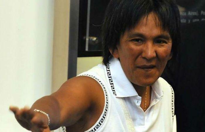 La líder piquetera de la Tupac Amaru.
