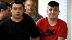 Andy Caminos rumbo a una audiencia en Tribunales. Aceptó condenas por numerosos delitos.