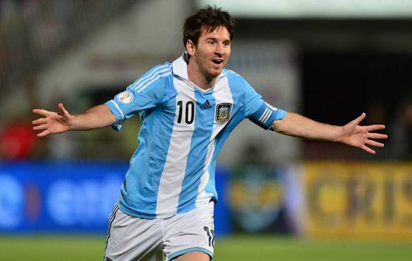 Messi se sumó al plantel albiceleste en la capital italiana.