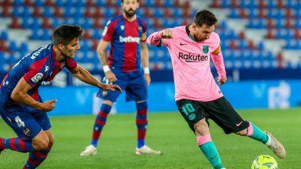 A Barcelona le empataron sobre el final y el título le quedó servido a Atlético de Madrid