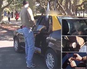 Presentaron una barrera de protección física para interiores de taxis