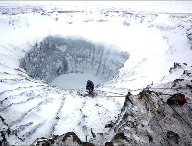 Científicos rusos bajaron por primera vez al agujero que lleva al fin del mundo
