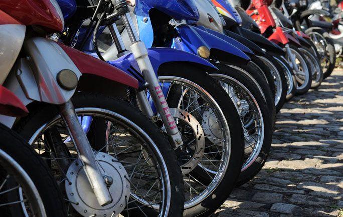 Dos ruedas. Para 2013 se prevé el patentamiento de 270 mil unidades en el país. Los concesionarios