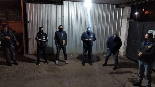 Los allanamientos fueron realizados la semana pasada en Rosario