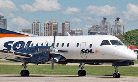 La aerolínea Sol reanuda sus vuelos programados a distintas provincias