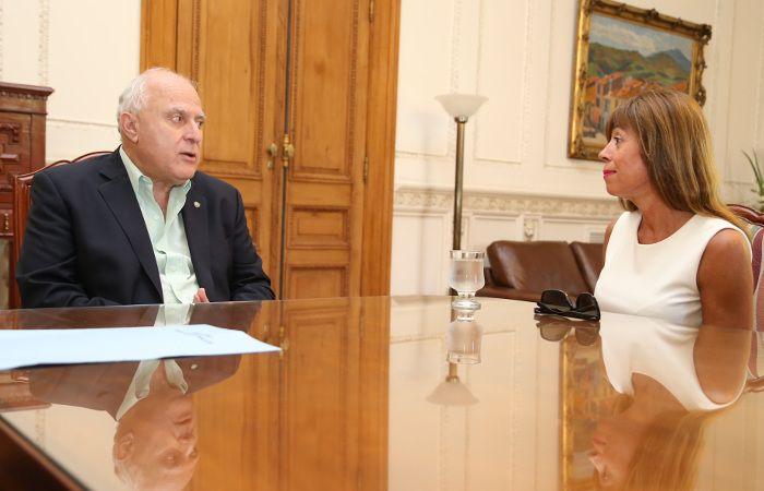 El gobernador se reunió con la fiscal federal coordinadora del Distrito Santa Fe