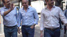 José Corral, Horacio Rodríguez Larreta y Roy López Molina buscan caminar juntos en la política nacional.