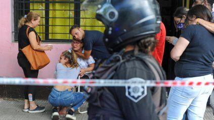 La cuadra de Mendoza al 4600 quedó conmocionada por el asesinato de Norberto Iunnisi.