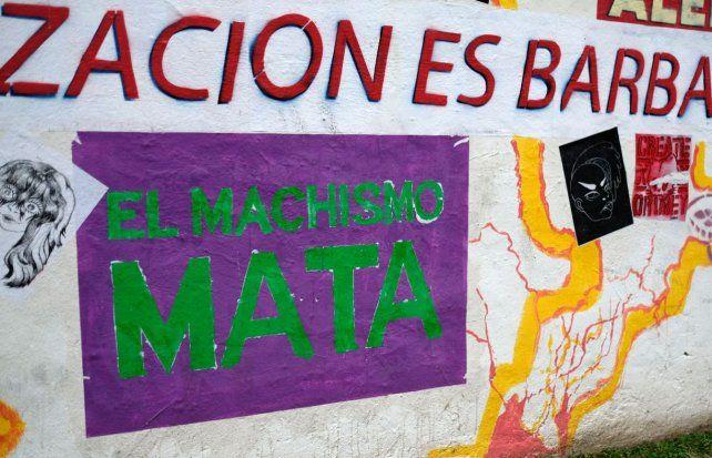 Una de las tantas frases en las paredes de Rosario durante las marchas contra la violencia de género y los femicidios.