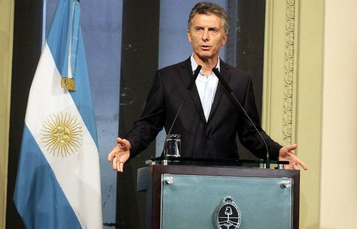 El presidente brindó una conferencia de prensa desde la Casa Rosada.