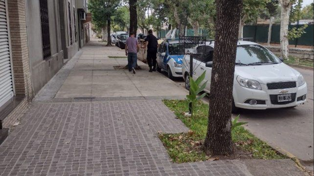 Uriel al salir del tribunal tras dictarse su absolución.