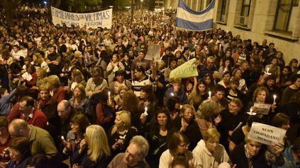 Rosario Sangra, la marcha del hartazgo que el 25 de agosto de 2016 junto la bronca de 20 mil rosarinos.