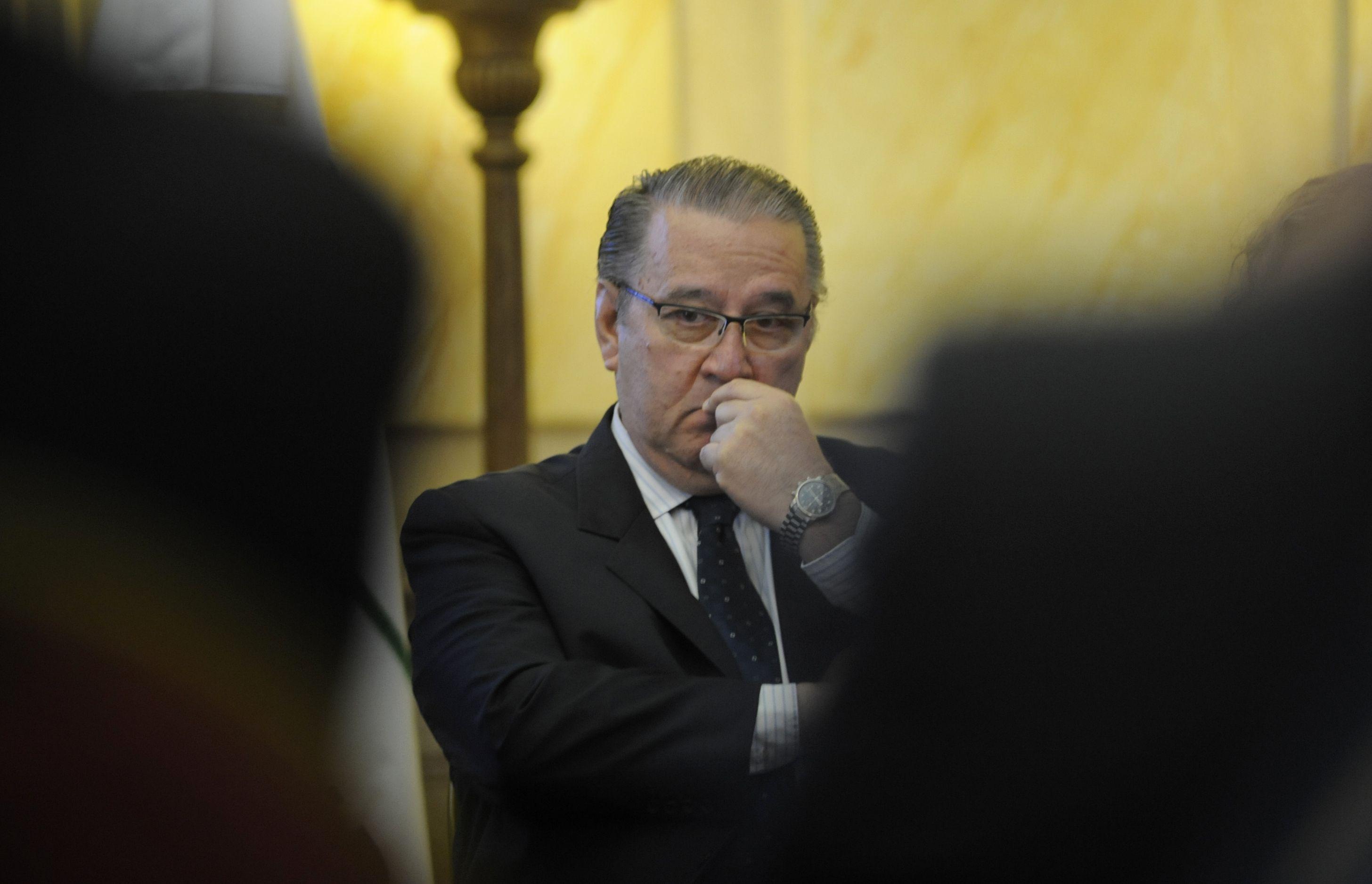 El ministro Antonio Ciancio
