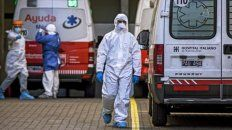 Covid-19 en Argentina: registraron 61 muertes este domingo
