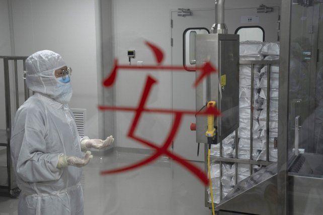 El laboratorio de la empresa Sinovac en Pekín. Le ha inyectado la vacuna experimental a sus empleados y familiares.