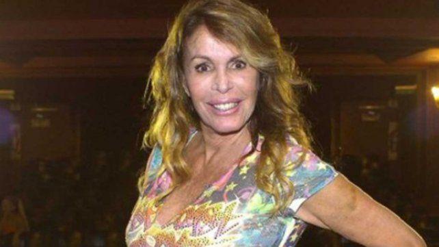 La exmodelo Pata Villanueva se cayó de una escalera y sufrió un fuerte traumatismo de cráneo.