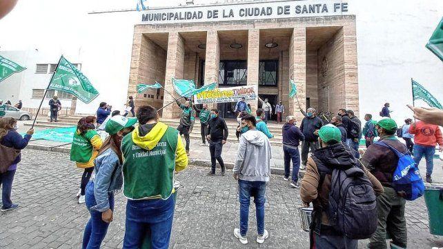 Municipales: Festram define el lunes si acata la conciliación obligatoria y levanta el paro