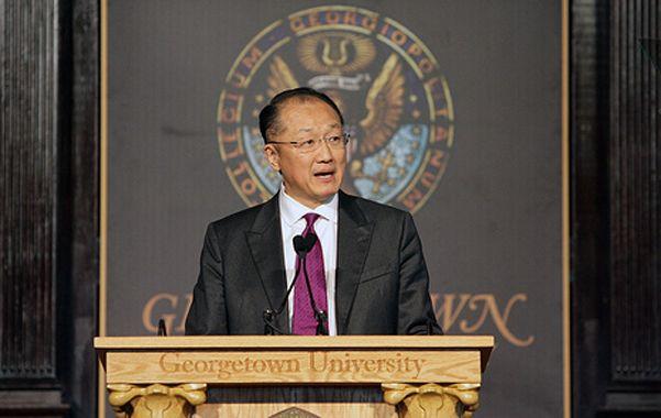 Asamblea. El presidente del Banco Mundial