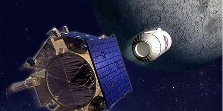 La Nasa chocó en la Luna dos sondas y lo mostró en vivo y directo