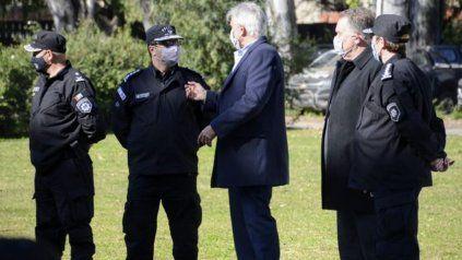 Luis Maldonado asumió como nuevo jefe de la Unidad Regional II de policía