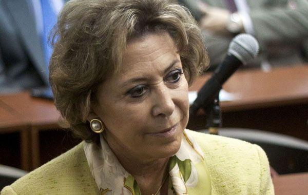 María Julia Alsogaray cumplirá la pena en un departamento de Junín al 1400