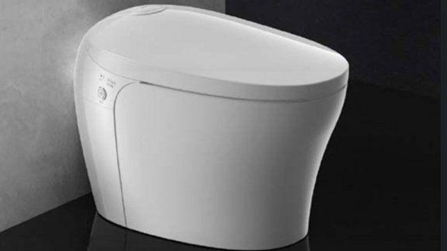 Lanzan un inodoro inteligente que se limpia solo, regula la temperatura y sube la tapa