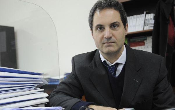 """En Asuntos Internos. """"En 2008 surge la mayoría de denuncias por enriquecimiento y en mi oficina estaba solo"""". (foto: Francisco Guillén)"""