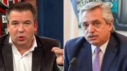 Contundente. Señor presidente, usted nos faltó el respeto, fue el mensaje de Gastón Recondo a Alberto Fernández.