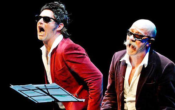 A dos voces. Alejandro Orlando y Pedro Paiva (derecha) ganaron premios tanto en la Argentian como en España.