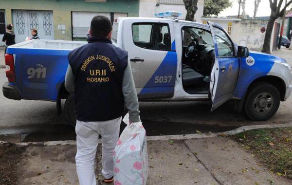 Del procedimiento participó la División Judiciales de la policía santafesina.