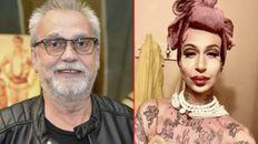 El músico y su hija trans Tayda. El drama de familia Lebón.