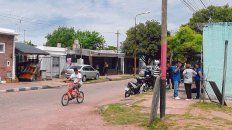 Edison al 400 de Villa Gobernador Gálvez, el lugar donde fueron asesinados Benítez y Leiva mientras tomaban mates.