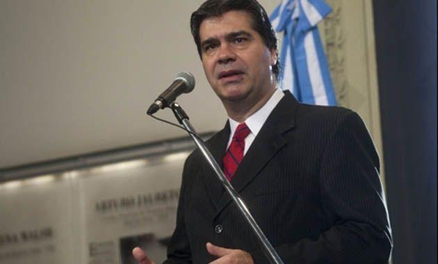 Capitanich negó que la presidenta haya dado la orden de jugar la fecha para relativizar los alcances del paro.