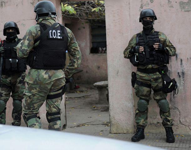 La Tropa de Operaciones Especiales brindó apoyo táctico en todos los procedimientos.
