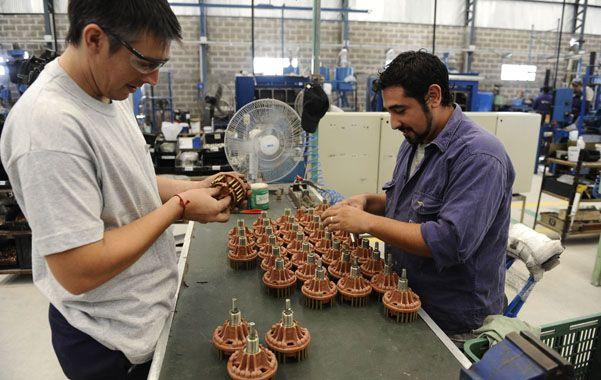 Tendencia. El empleo asalariado se concentró Argentina