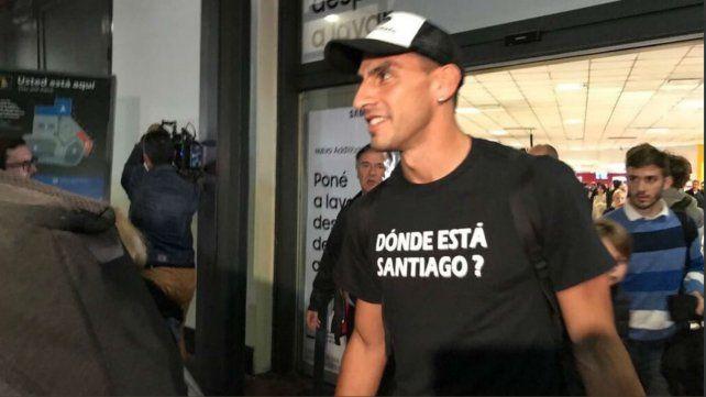 El Patón Guzmán se sumó al pedido por la aparición de Santiago Maldonado