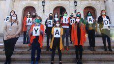 Las diputadas santafesinas, promotoras de la iniciativa a convertirse en ley.