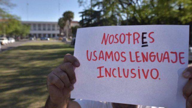 La polémica por le lenguaje inclusivo llegó al Congreso de la Nación.