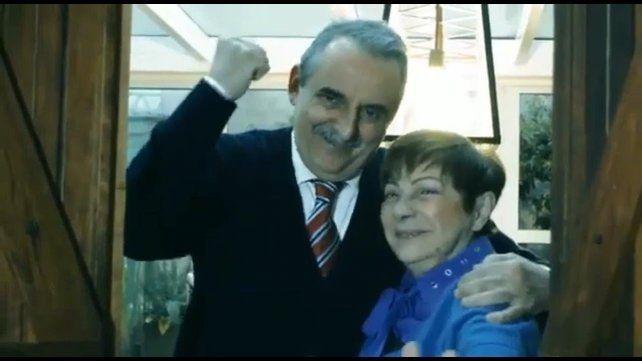 El video de Guillermo Moreno fue publicado por la cuenta de Twitter del partido Principios y Valores.