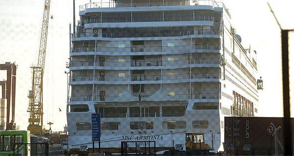 Llegó a Buenos Aires el crucero donde se hallaron casos de gripe B