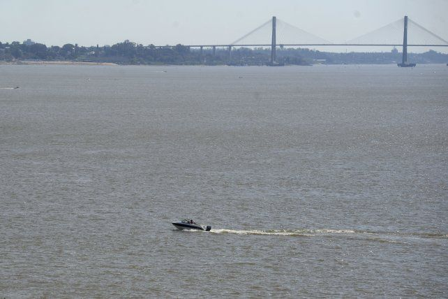 Con sol y sin viento, pocos pudieron navegar este fin de semana por el Paraná.