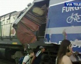 Hay 27 internados, dos de ellos en grave estado, tras choque de trenes en San Miguel