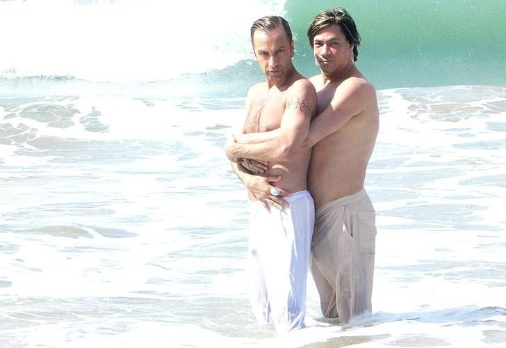 Roberto Piazza y su marido pasaron una romántica luna de miel en Brasil