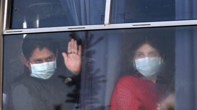 """Aislados. """"Ninguno de los argentinos que voló a Kiev tuvo síntomas de la enfermedad durante la cuarentena""""."""
