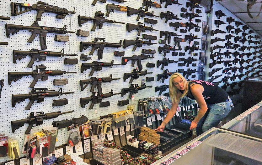 """El """"Black Friday"""" tuvo récord de venta de armas de fuego en Estados Unidos"""