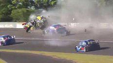 Video: tremendo accidente en el Top Race Junior en Paraná