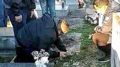 Pueblo Brugo: debieron aguardar casi un día para sepultar un ser querido.